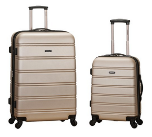Rockland Luggage Expandable Spinner Set