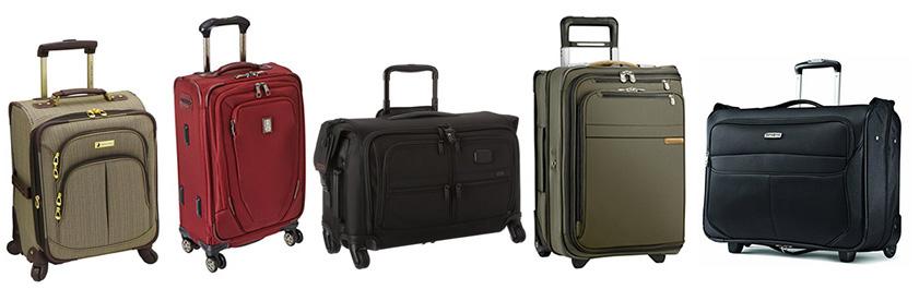 NEW Ricardo Beverly Hills Mar Vista Trifold Garment Bag