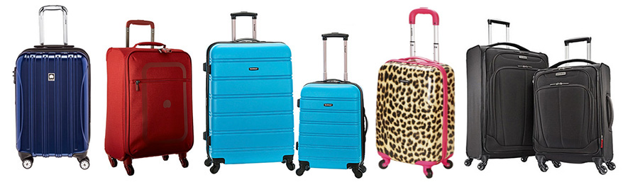 lightest weight spinner luggage