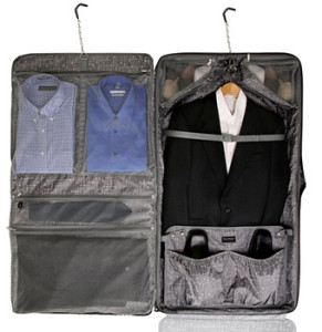 Ricardo Beverly Hills Mar Vista Rolling Garment Bag Interior