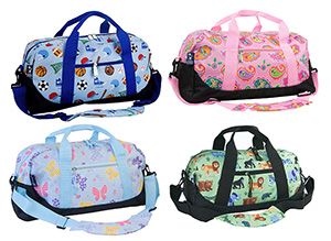 Favorite Kids Duffle Bags With Wheels And Without